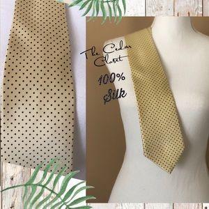 CROMLEY & FINCH of LONDON Men's tie.  100% SILK